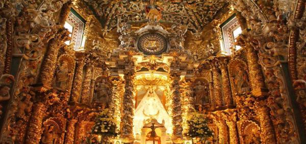 کلیسای سانتاماریا مجلل ترین کلیسای جهان؛ مکزیک