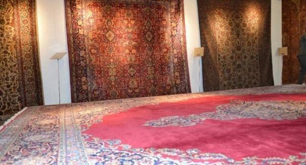 رونمایی از فرش های دوره قاجار و پهلوی اول در البرز