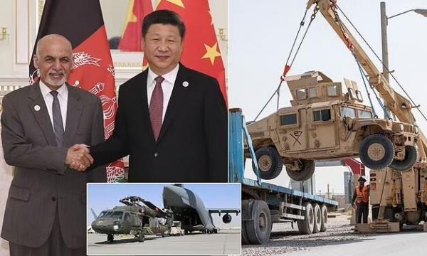 دیلی بیست: چین آماده پر کردن خلاء آمریکا در افغانستان است