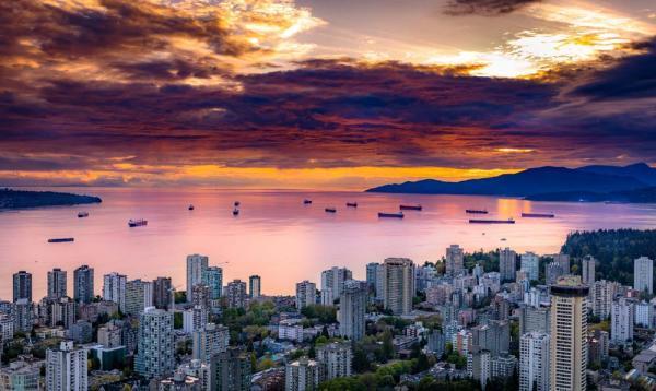 ویزای کانادا: ونکوور دهمین شهر برتر جهان در زمینه تعادل کار و زندگی